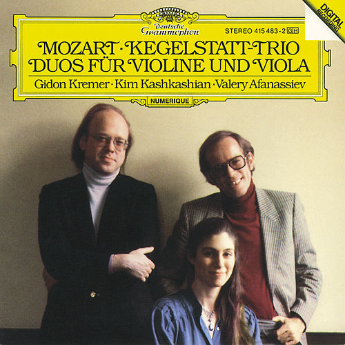 Mozart: Kegelstatt-Trio; Duos for Violin and Viola de Gidon Kremer