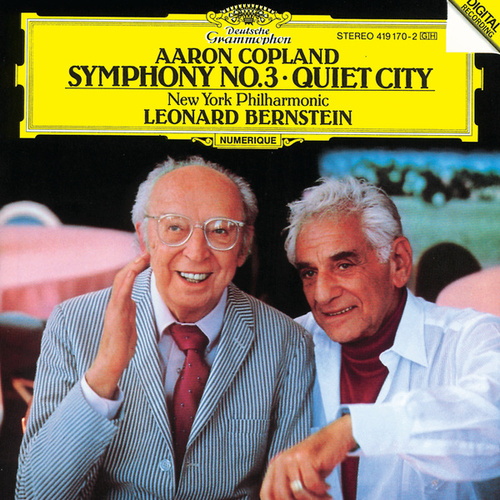 Copland: Symphony No. 3; Quiet City by New York Philharmonic