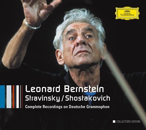 Stravinsky / Shostakovich von Leonard Bernstein, Hildegard Behrens, Peter Hofmann, Yvonne Minton, Bernd Weikl, Hans Sotin, Symphonieorchester des Bayerischen Rundfunks