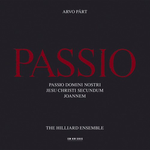 Passio de The Hilliard Ensemble