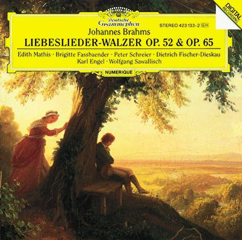 Brahms: Liebeslieder-Walzer de Edith Mathis