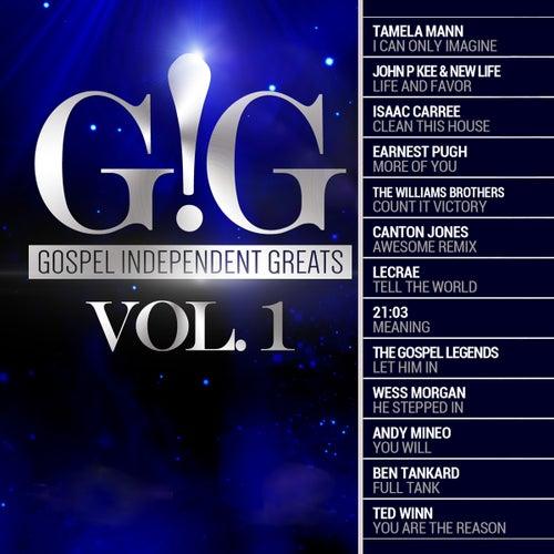 Gospel Independent Greats (GIG) Vol .1 de Various Artists