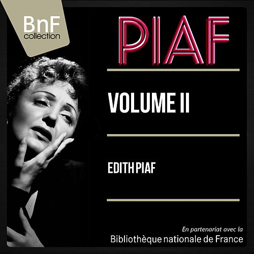 Volume II (Mono version) de Edith Piaf