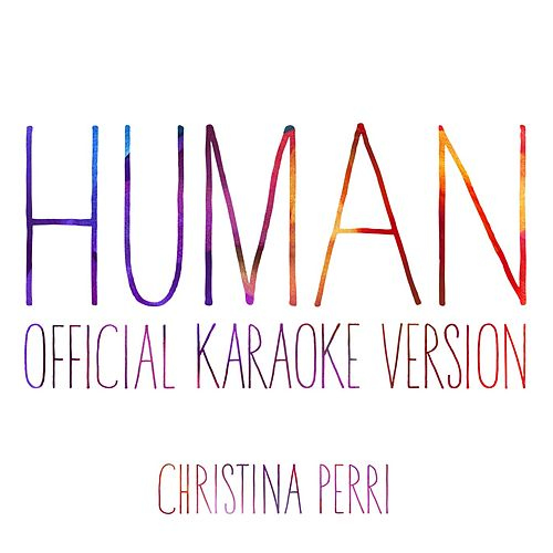 human (Official Karaoke Version) de Christina Perri