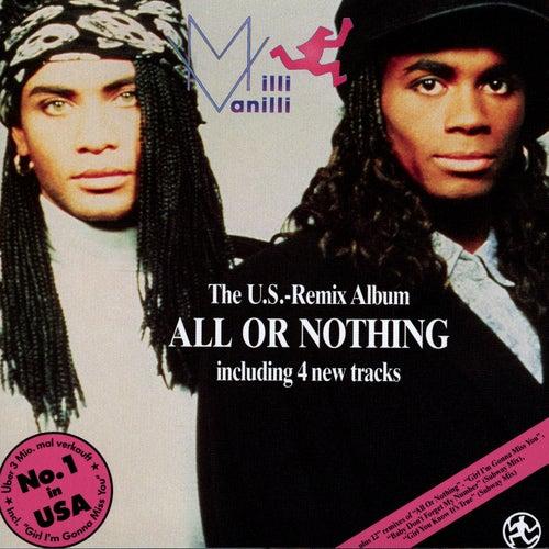 All Or Nothing US Remix Album de Milli Vanilli