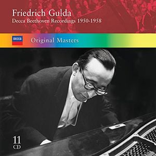 Gulda plays Beethoven by Friedrich Gulda