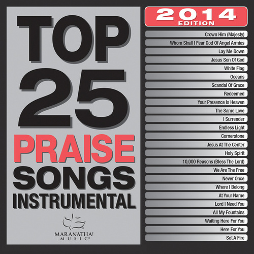 Top 25 Praise Songs Instrumental 2014 de Marantha Music