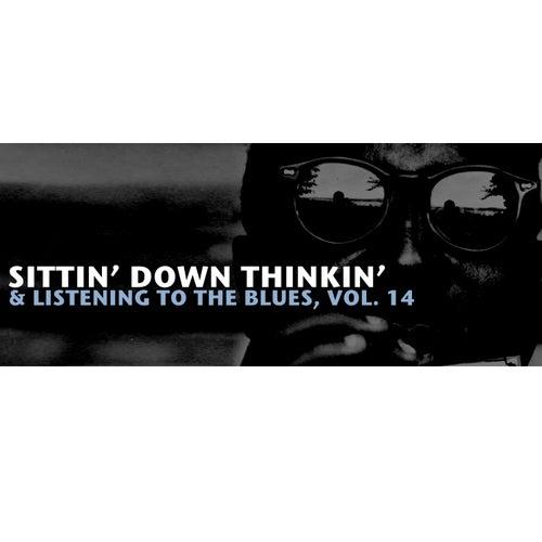 Sittin' Down Thinkin' & Listening to the Blues, Vol. 14 de Various Artists