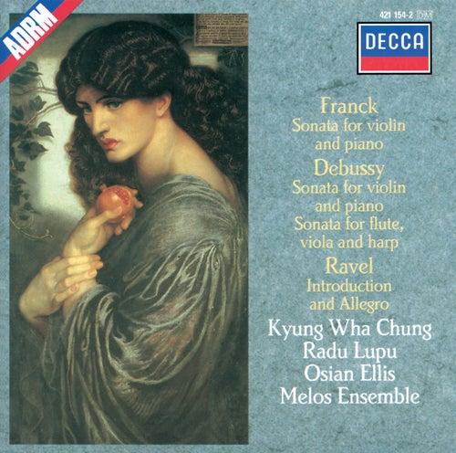 Debussy / Franck / Ravel: Sonata for Flute, Viola & Harp / Sonata for Violin & Piano etc. by Kyung Wha Chung