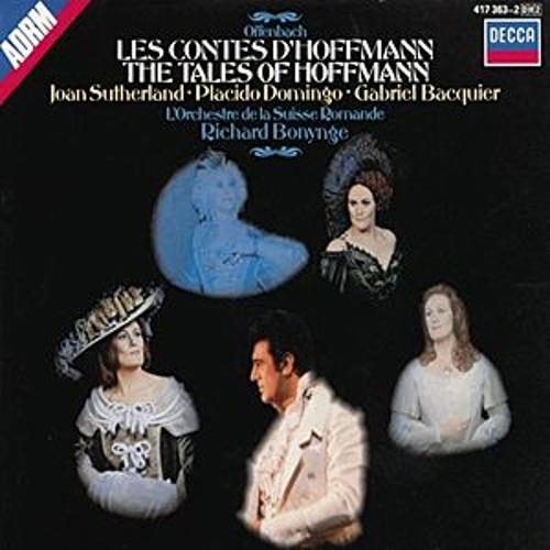 Offenbach: Les Contes d'Hoffman von Dame Joan Sutherland
