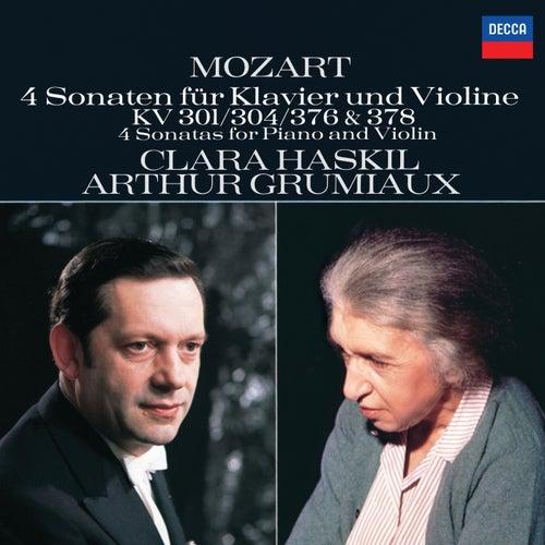 Mozart: 4 Violin Sonatas for Piano and Violin, Nos.18, 21, 24 & 26 de Clara Haskil