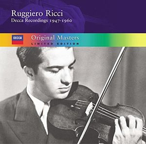 Ruggiero Ricci: Decca Recordings 1950-1960 von Ruggiero Ricci