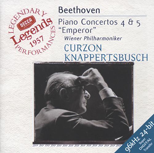 Beethoven: Piano Concertos Nos.4 & 5 von Sir Clifford Curzon
