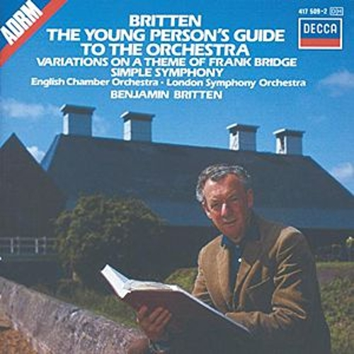 Britten: The Young Person's Guide to the Orchestra; Simple Symphony, etc. de London Symphony Orchestra