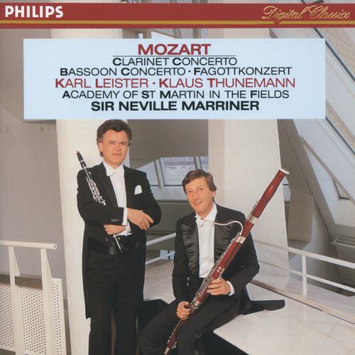 Mozart: Clarinet & Bassoon Concertos by Karl Leister