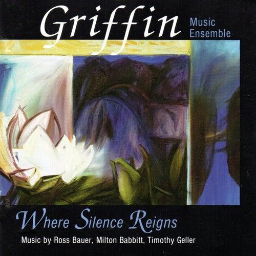 Where Silence Reigns: Music by Ross Bauer, Milton Babbitt, Timothy Geller de Various Artists
