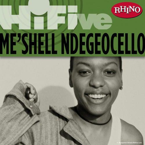 Rhino Hi-Five: Me'Shell Ndegeocello von Meshell Ndegeocello