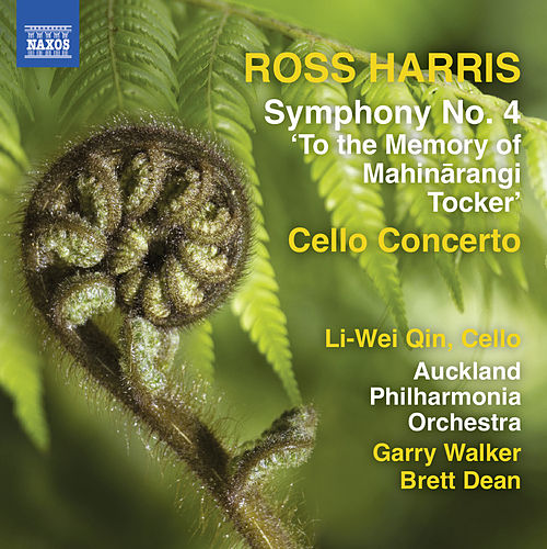 Ross Harris: Symphony No. 4 & Cello Concerto von Various Artists
