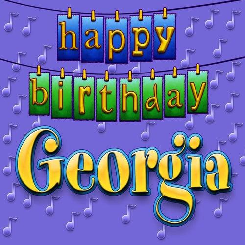 Happy Birthday Georgia By Ingrid DuMosch