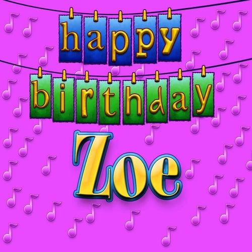Happy Birthday Zoe Personalized By Ingrid Dumosch