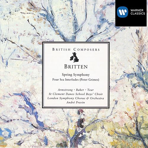 Britten: Spring Symphony, Four Sea Interludes (Peter Grimes) by André Previn