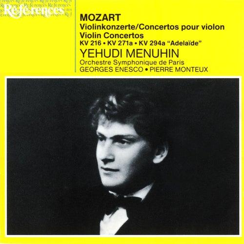 Mozart: Violin Concertos by Yehudi Menuhin