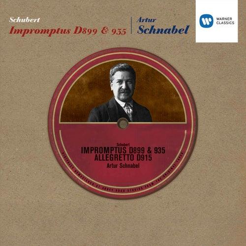 Schubert: Impromptus D899 & 935 by Artur Schnabel