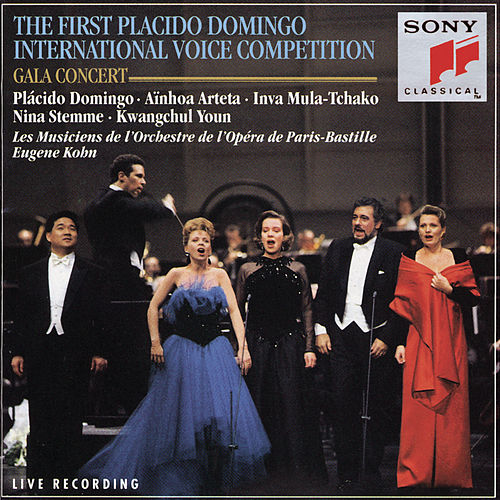Premier Concours International de Voix D'Opéra Plácido Domingo; Paris 1993 / Concert of the Prizewinners de Plácido Domingo