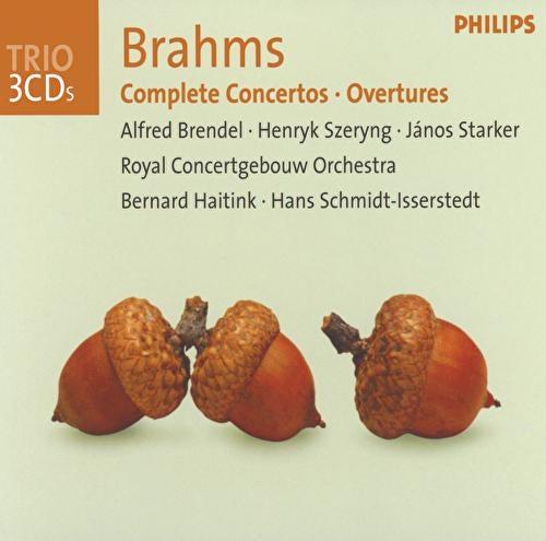Brahms: Complete Concertos / Overtures by Alfred Brendel