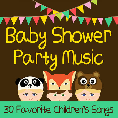Baby Shower Party Music: 30 Favorite Children's Songs for the Family Like Elmo's Song, Sesame Street Theme Song, Star Wars Disco, The Muppet Show, + More! by Little Apple Band