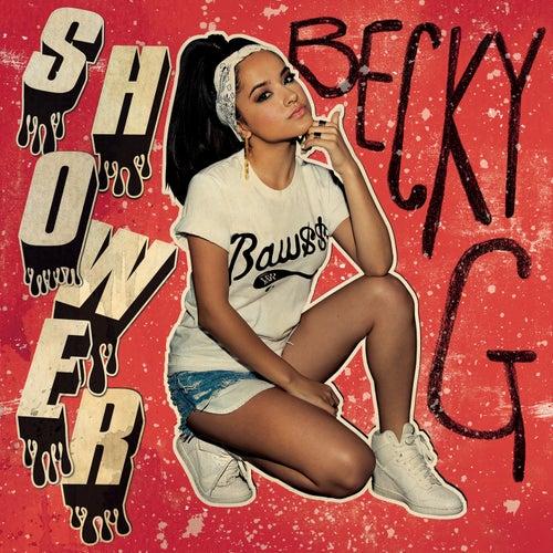 Shower van Becky G