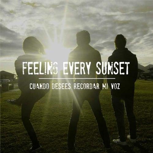 Cuando Desees Recordar Mi Voz de Feeling Every Sunset