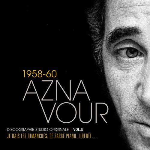 Vol.5 - 1958/60 Discographie Studio Originale de Charles Aznavour