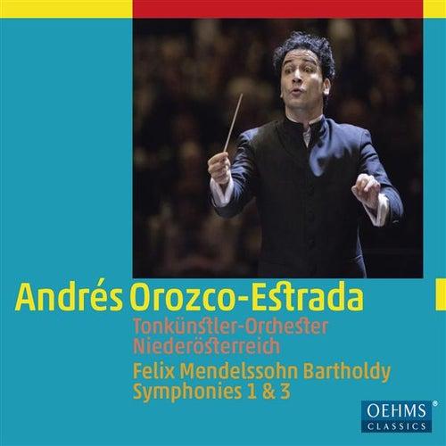 Mendelssohn: Symphonies Nos. 1 & 3 by Tonkünstlerorchester
