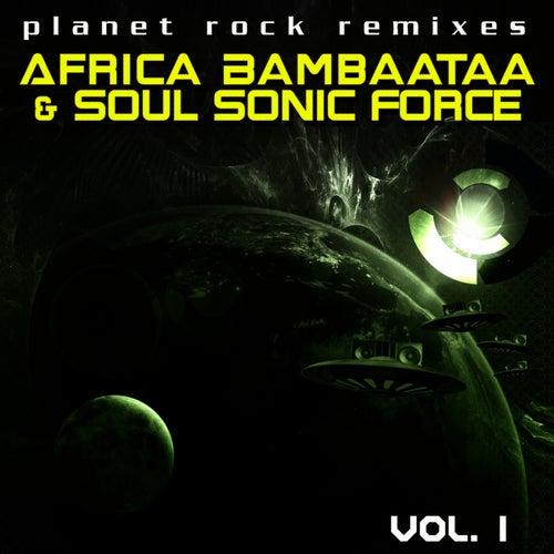 Planet Rock Remixes Vol. 1 by Afrika Bambaataa