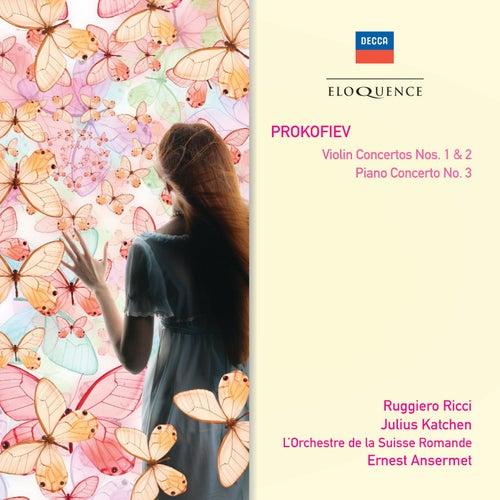 Prokofiev: Violin Concertos Nos.1 & 2; Piano Concerto No.3 de Ruggiero Ricci