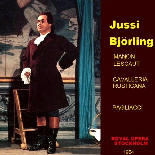 Manon Lescaut ,cavalleria Rusticana , Pagliacci von Jussi Bjorling