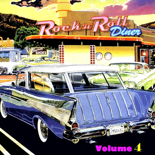Rock N Roll  Diner Volume 4 de Various Artists