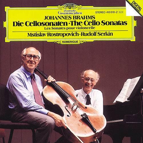 Brahms: The Cello Sonatas de Mstislav Rostropovich
