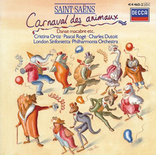 Saint-Saëns: Le Carnaval des Animaux; Phaéton; Danse Macabre etc. de Pascal Rogé