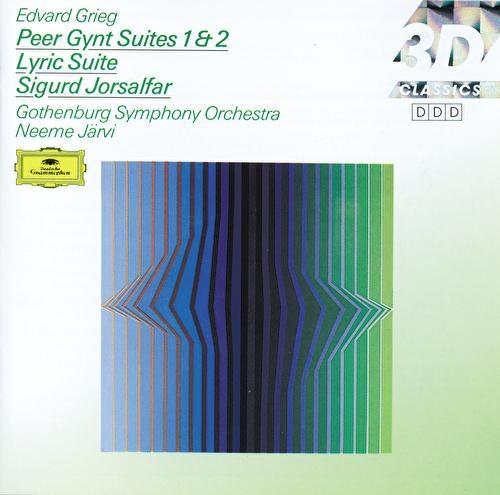Grieg: Peer Gynt Suites Nos.1 & 2; Lyric Suite; Sigurd Jorsalfar von Göteborgs Symfoniker