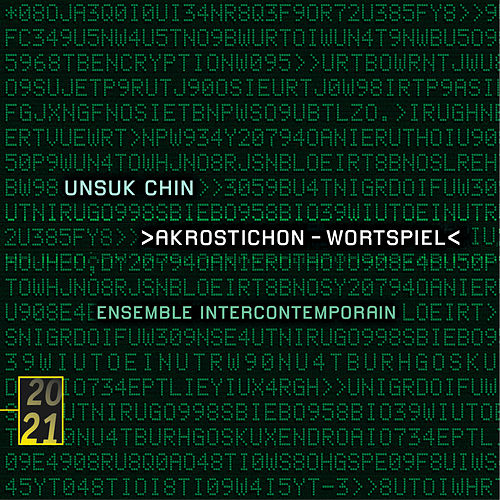 Chin: Double Concerto; Akrostichon; XI; Fantaisie mécanique by Ensemble Intercontemporain