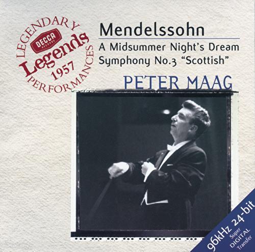 Mendelssohn: Symphony No.3; A Midsummer Night's Dream by Jennifer Vyvyan