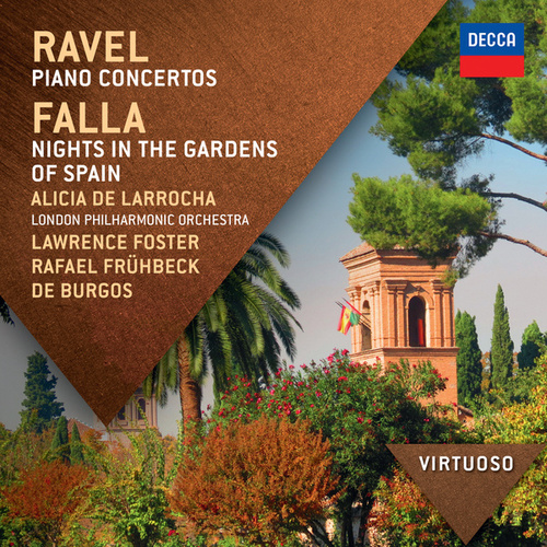 Ravel:  Piano Concertos; Falla: Nights In The Gardens Of Spain de Alicia De Larrocha