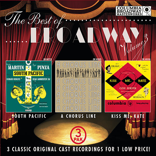 The Best of Broadway, Vol. 3 (3-Pak Slipcover) de Various Artists