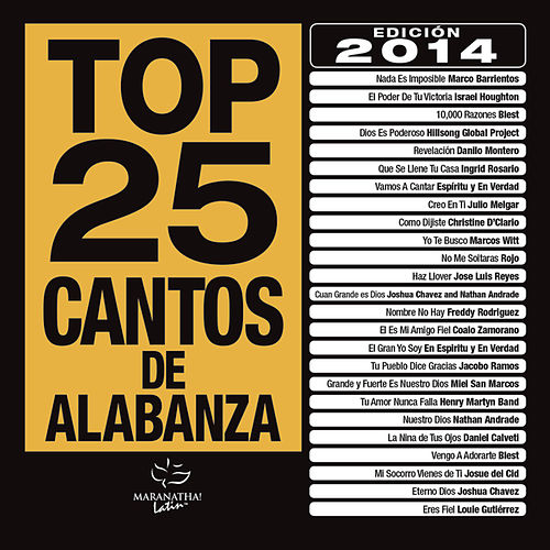 Top 25 Cantos De Alabanza de Various Artists