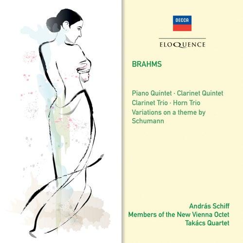 Brahms: Clarinet Trio; Horn Trio; Variations on a theme of Schumann; Piano Quintet; Clarinet Quintet de András Schiff