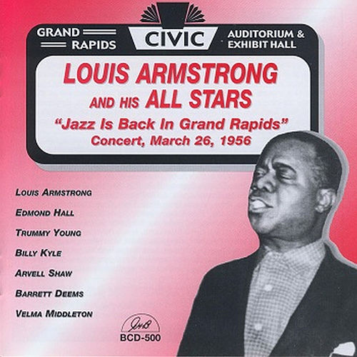 Jazz Is Back in Grand Rapids de Louis Armstrong