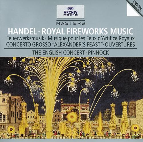 Handel: Music for the Royal Fireworks de Michael Laird