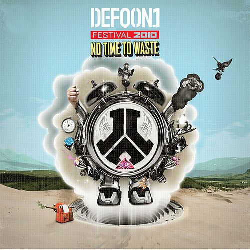 Defqon.1 2010 - No Time To Waste de Various Artists